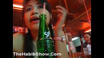 Real shy Thai Street Prostitute get Fucked in her Hairy tight PUSSY