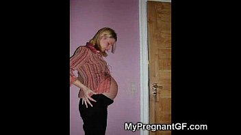young cute pregnant girl