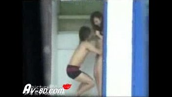 Asian Couple Home Alone